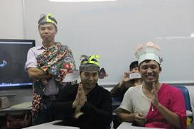tiengtrung.vn - Lớp cô Thảo tập kịch 28/9/2013